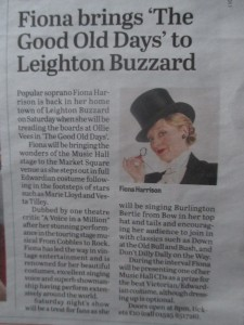 Fiona Harrison in the paper