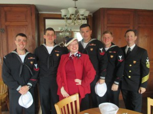 Me with the US Navy Band!