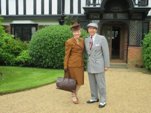 Paul and I at Ascott House!