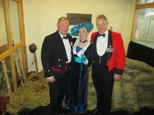 Looking Smart in Mess Dress at Northwood!