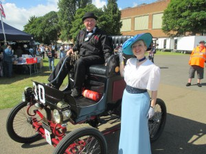 Early Transport from 1900 as I get set to sing!