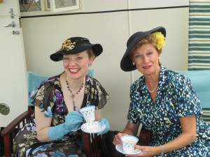 Tea with Lesley!