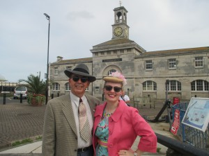 Outside the Maritime Museum in Ramsgate!