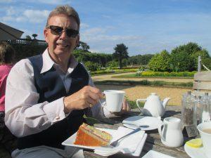 Paul Enjoy Tea and Cake at Osborne!