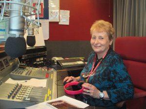 In the Studio with Sue Jones at L&D Radio!