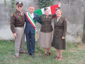 Paul and I with Giuseppe and Francesca!