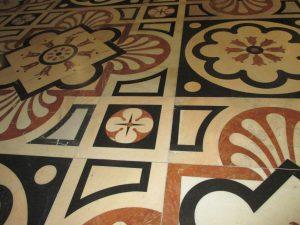 The Marble Flooring Designed by Tibaldi!
