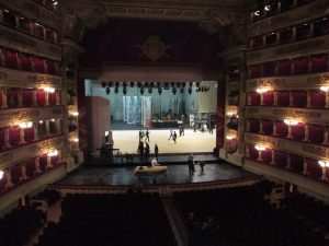 Inside La Scala!
