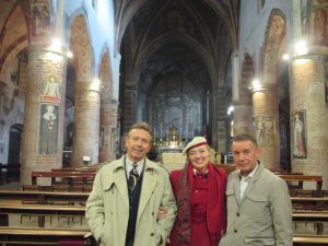 Paul, Guiseppe and Me at San Francesco!