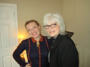 Liz Harley and I!