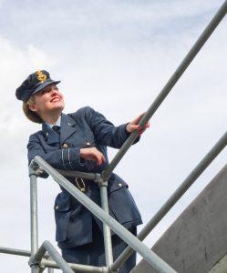 Flying High in Uniform!