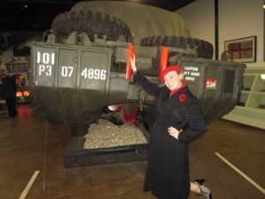 Enjoying the D-Day Museum!