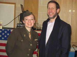 Me with Rabbi Yitzchak Schochet!