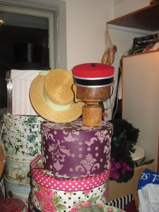 Mayhem and Hats Galore in My Dressing Room!