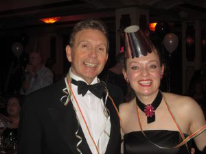 Paul and I Seeing in the New Year at The Pavilion!