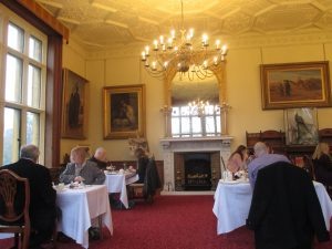 Enjoying Tea at Shuttleworth House!