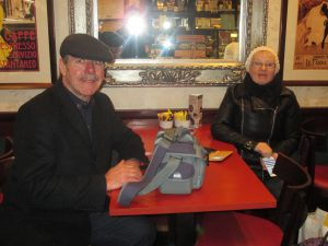 Out for Coffee with Brian and Viv!