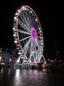Nottingham Lit Up at Night!
