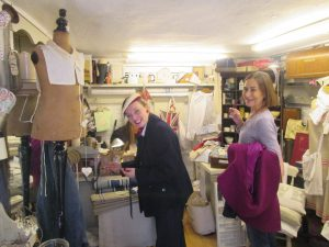 Linda and I Shopping for Vintage in Wendover!