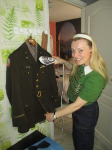 Prepping Our Uniforms for the Show!
