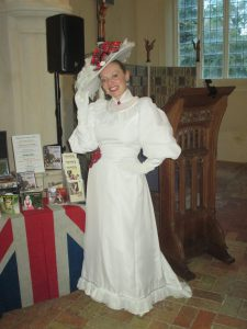 In Music Hall Costume at Southill!