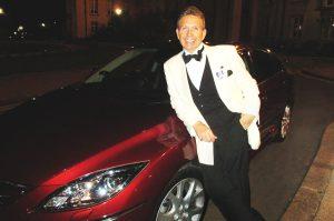 Paul Marsden Frank Sinatra Singer Car Shot