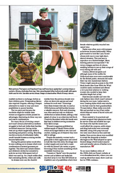 Fiona Harrison Best of British April 2017 - Fashion on the Ration pg 41