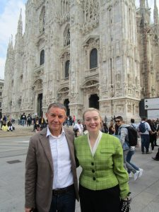 Fiona Harrison at The Duomo