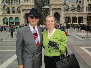 Fiona Harrison & Paul Marsden in Milan