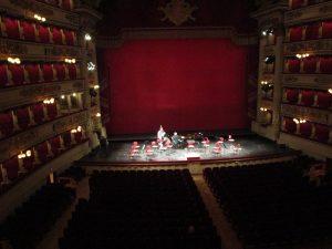Fiona Harrison at La Scala