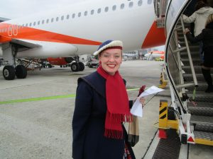 Fiona Harrison flies to Milan