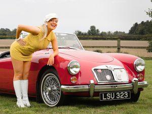 Fiona Harrison - 1960s vintage singer