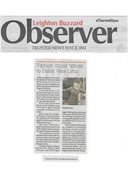 Observer Vintage Singer Tribute June 20