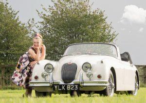 Fiona Harrison Jaguar XK150