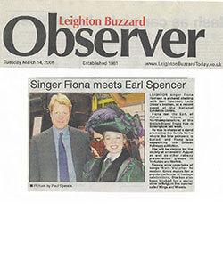 """Fiona Harrison meets Earl Spencer"""" width="""